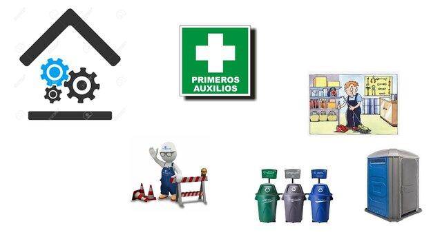 Higienes y Seguridad en los establecimientos de trabajo.