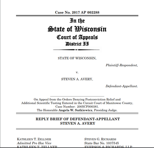 Kathleen Zellner files reply to state