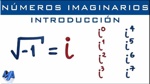 1.8.1 Números Imaginarios
