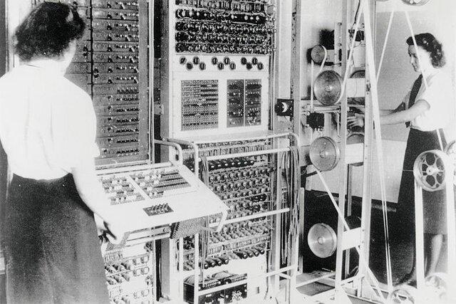 La primera generación (1945 a 1955): tubos al vacío
