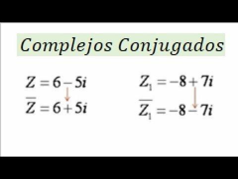 1.8.4 Numeros Complejos Conjugado