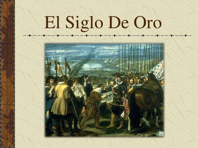 Español de los siglos de oro