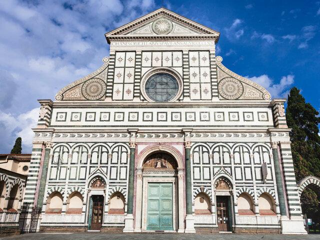 Leon Battista Alberti, Santa Maria Novella