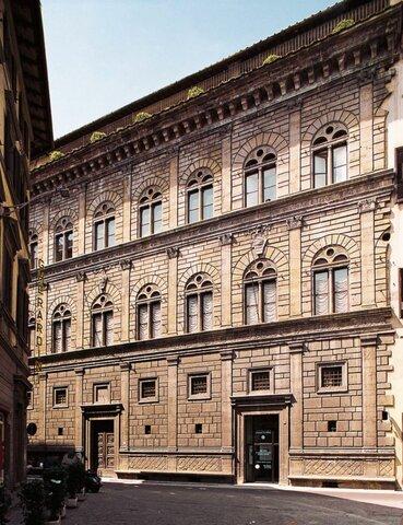 Leon Battista Alberti, Palazzo Rucellai