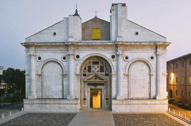 Leon Battista Alberti, Tempio Malatestiano
