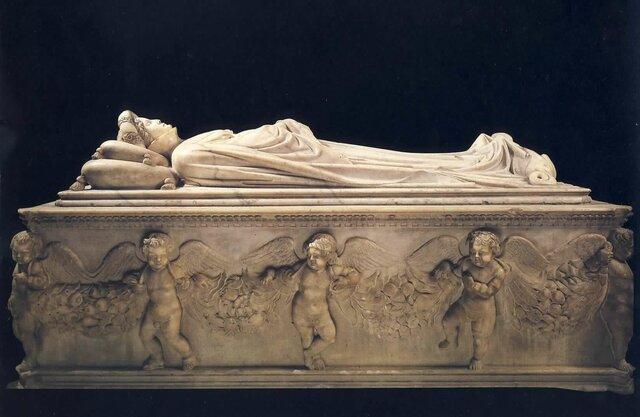 Jacopo della Quercia, Monumento funebre a Ilaria del Carretto