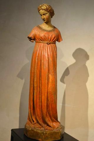 Jacopo della Quercia, Vergine Annunciata