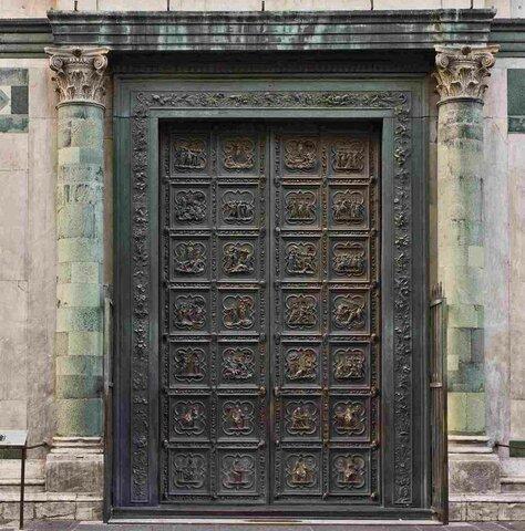 Lorenzo Ghiberti, Porta Settentrionale