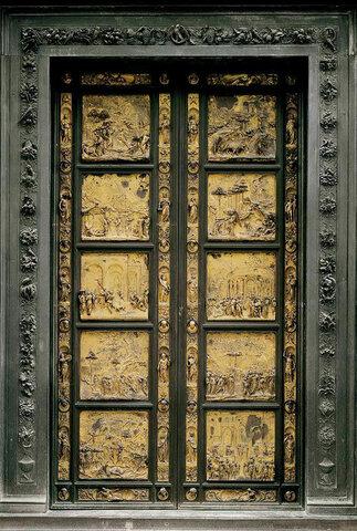 Lorenzo Ghiberti, Porta del Paradiso