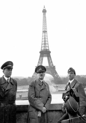 Alemania conquistó la mitad de Francia,