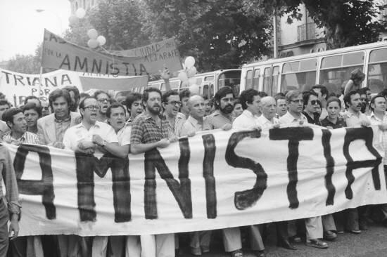 Manifestaciones en favor a la amnistía
