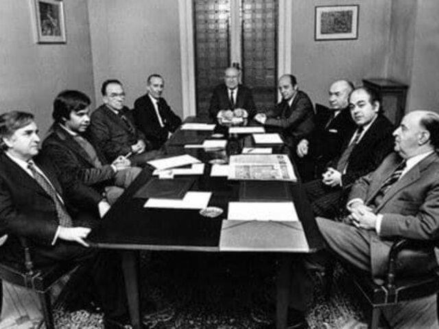 Creación de la Coordinación Democrática (Platajunta)