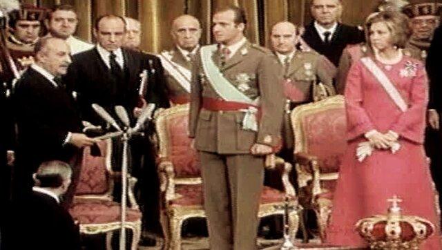 Subida al trono de Juan Carlos I