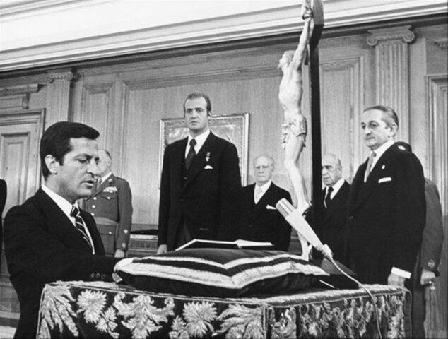 Llegada a la presidencia de Adolfo Suárez
