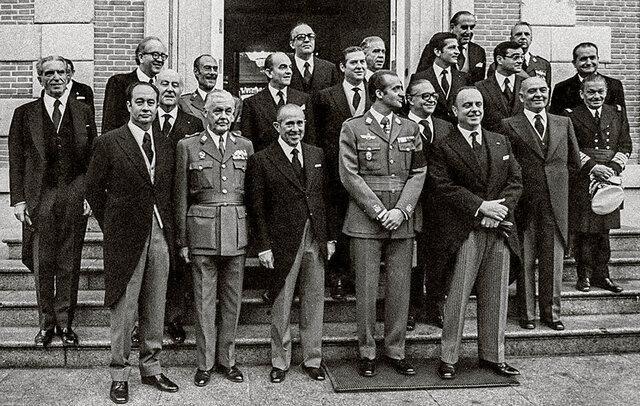 Primer gobierno de la Monarquía. (presidido por Carlos Arias Navarro)