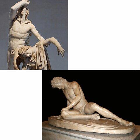 Galata morente e Galata suicida di Pergamo