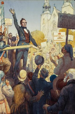 Les premières élections au Bas-Canada