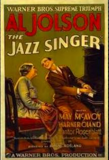 Avvento del sonoro: Cantante di Jazz (A. Crosland)