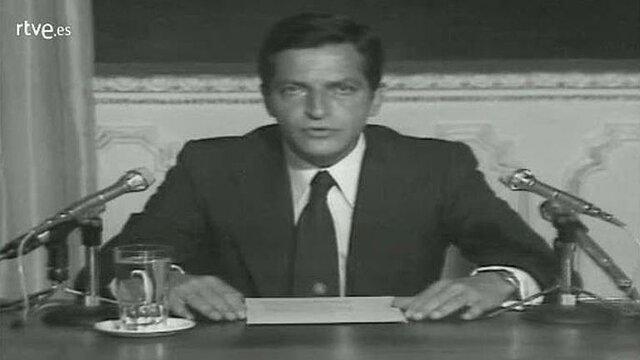 VIDEO: Suárez se dirige al país tras los sucesos de enero de 1977