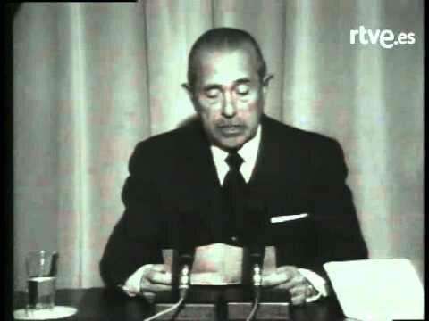 VIDEO: ARIAS NAVARRO COMUNICANDO LA MUERTE DE FRANCO