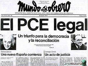 Legalización del Partido Comunista