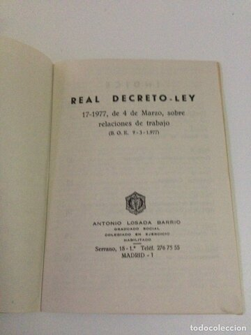 El decreto-ley