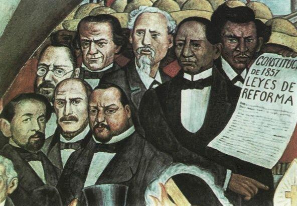 Reforma que incorporó las Leyes de Reforma a la Constitución.