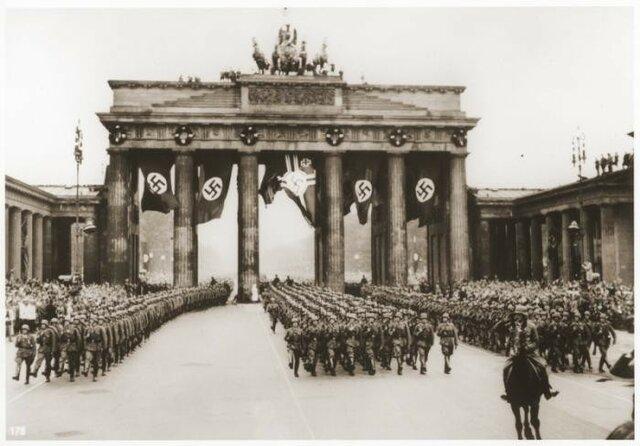 Inicio expansión alemana