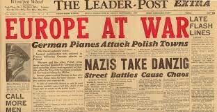 Invasión Polonia. Segunda Guerra Mundial.