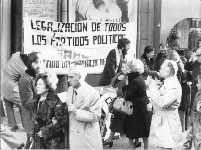 Legalización de los Partidos Políticos