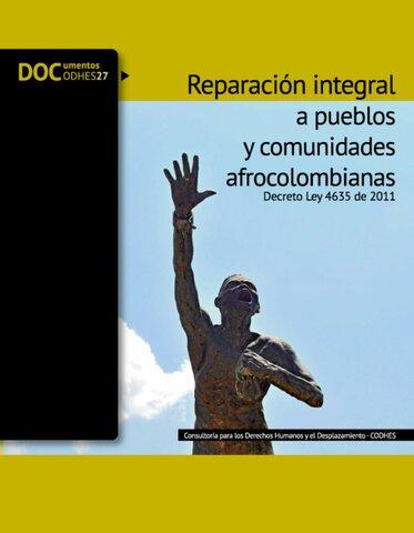 Decreto Nacional 4635 de 2011