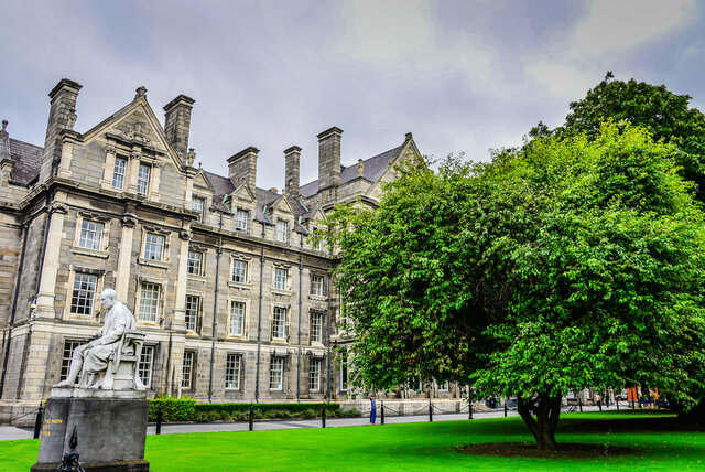 Entered Trinity College in Dublin