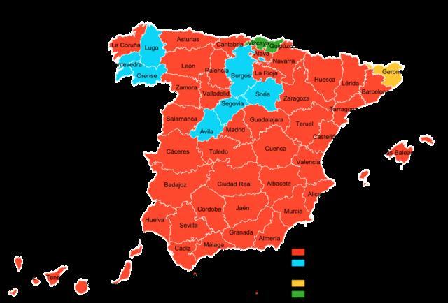 GRAFICA DE LAS ELECCIONES DE 1982