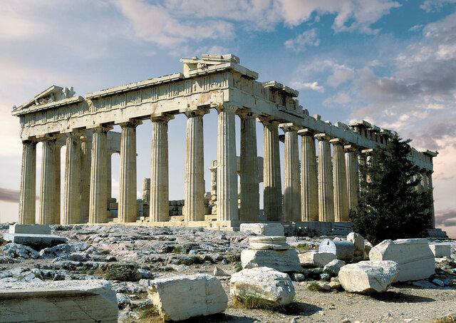 Inizio costruzione del Partenone