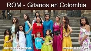 El pueblo gitano como grupo étnico Colombiano