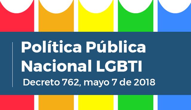Colombia tiene política pública LGBT