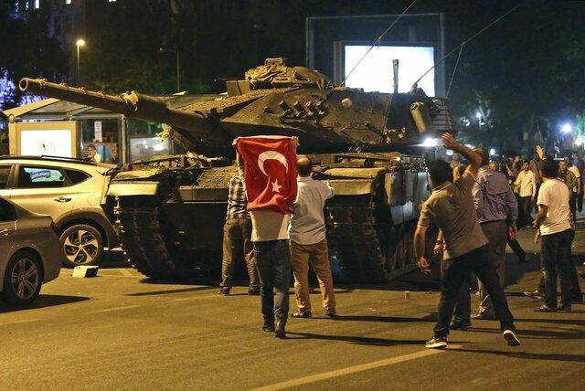 Turkish Military attempt to overthrow President Erdoğan