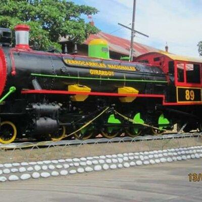 Parque de la locomotora timeline