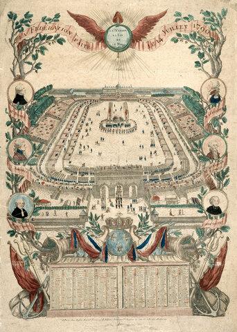 Des festivités en avril 1791