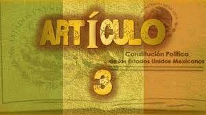 En 1946 se reformó el artículo 3° constitucional.