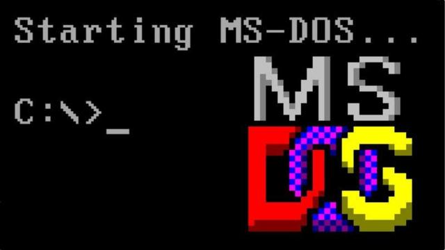 MS-DOS / IBM PC DOS – 1981