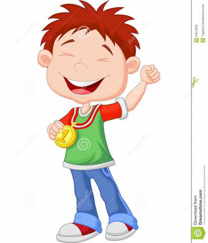 me gane mi primera medalla en el colegio
