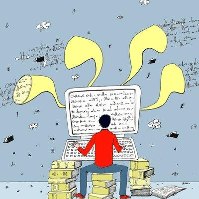 Scrittori italiani timeline