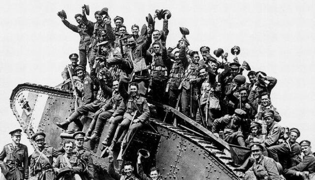 Fi de la guerra mundial I