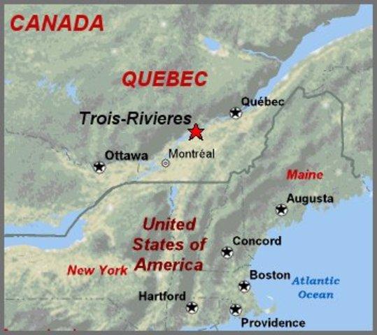 Champlain de Laviolette - Trois-Rivières