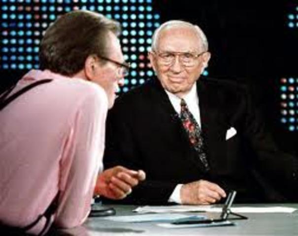 President Hinckley interviewed on Larry King Live