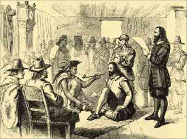 Natives Converting to Catholism