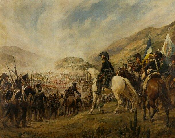 San Martín a chacabuco