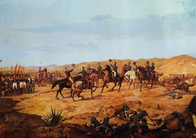 La batalla d'Ayacucho