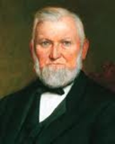 Wilford Woodruff becomes 4th President of the Church of Jesus Christ of Latter Day Saints